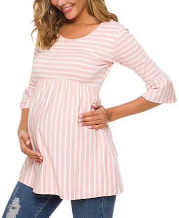 Beautiful Trendy and Stylish Maternity T-Shirts Tops Clothes