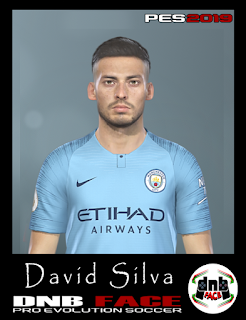 PES 2019 Faces David Silva by DNB