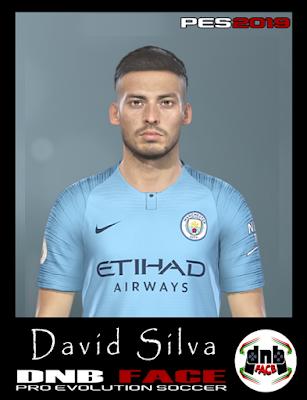 PES 2019 Faces David Silva by DNB