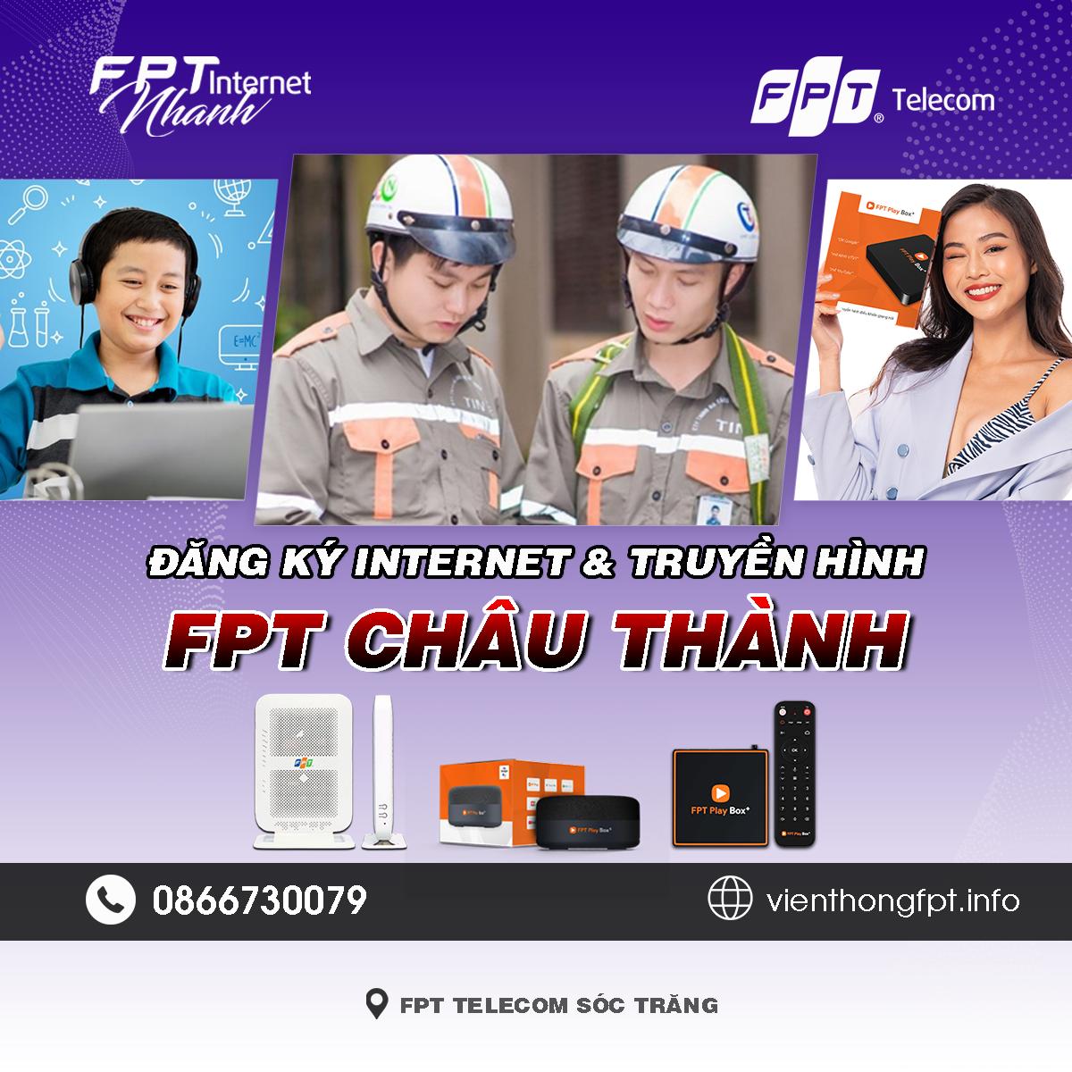 Tổng đài FPT Châu Thành - Sóc Trăng
