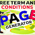 Free Terms And Conditions Page Generator For Website And Blogger [SIMPLE TRICK]