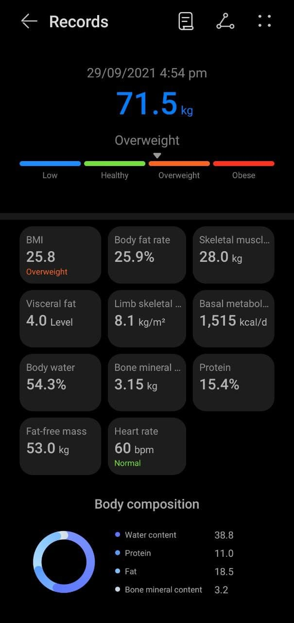 Patty Villegas - The Lifestyle Wanderer - Huawei - Scale 3 Pro - Review - Body Composition Analysis