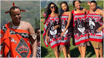 how does the king of swaziland mswati chooses his wives