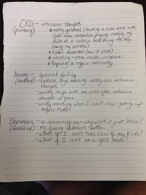 Symptom Profile, page 1