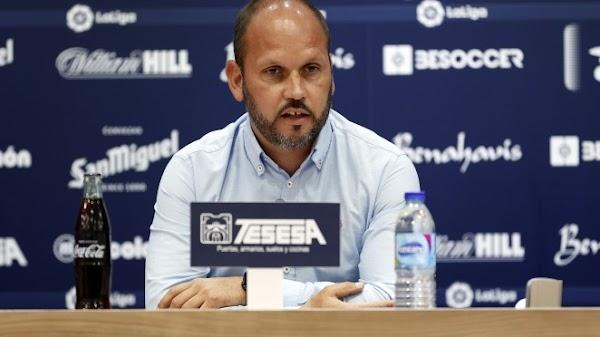 """José Alberto - Málaga -: """"Necesitamos reforzar la parcela ofensiva"""""""
