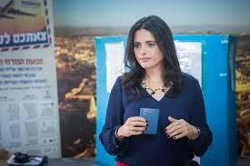 Ayelet Shaked rejeita comentários do rabino