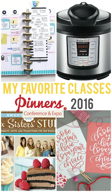 A review of my favorite classes from Pinners Conference 2016