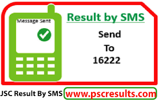 jsc result 2016 by sms