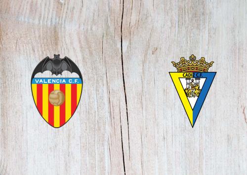 Valencia vs Cádiz -Highlights 04 January 2021