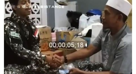 Laskar FPI Ditembak, Fadli Zon Unggah Video Ahmad Faiz Kasih Bantuan Longsor Bogor
