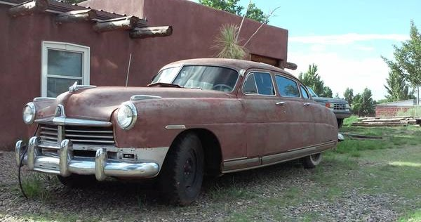 Restoration Project Cars: 1949 Hudson Commodore Project