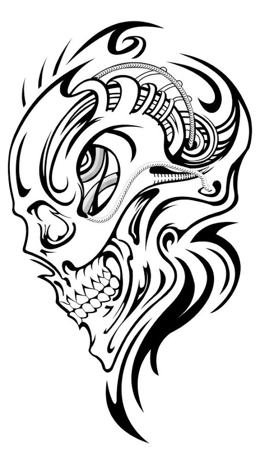 Skull-tattoo-design