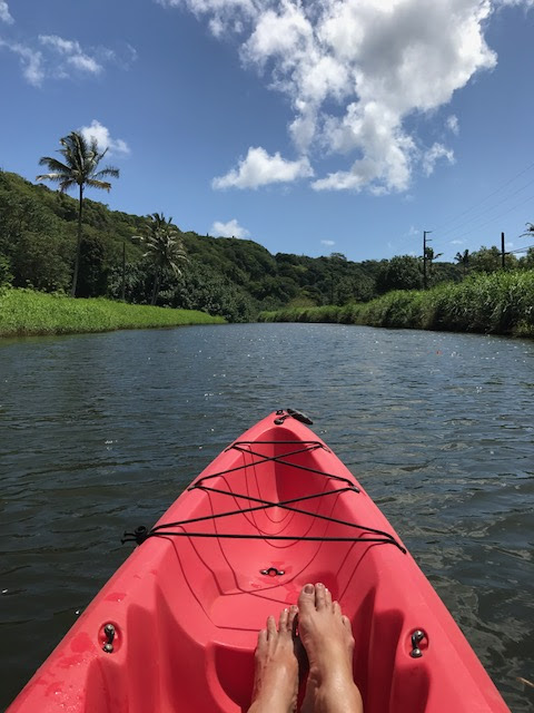 Kayaking the Waimea