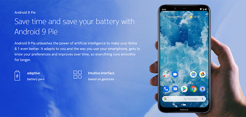 Nokia 8.1 with SD710 goes official!