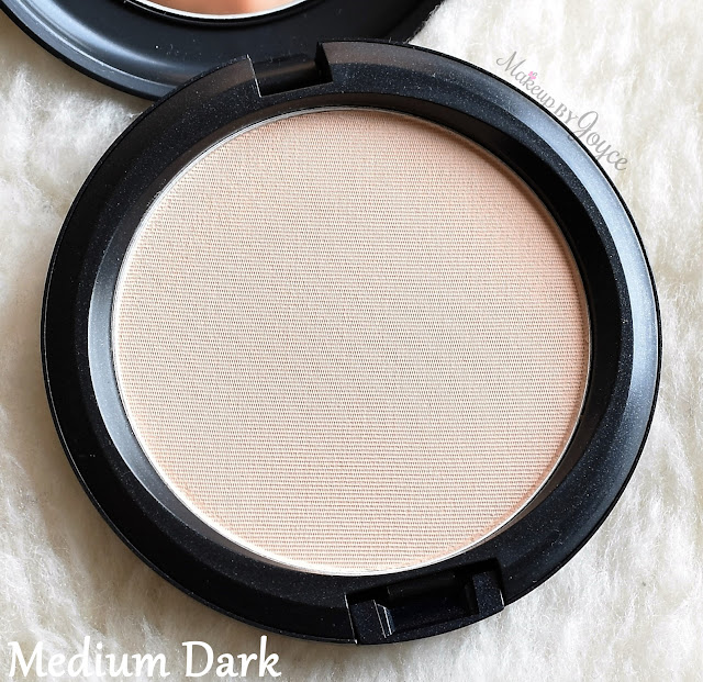 MAC Pressed Blot Powder Medium Dark Review