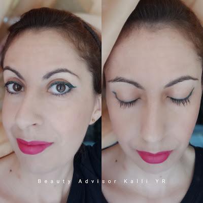 Make Up by Yves Rocher, Kalli's blog