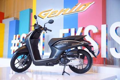 Spesifikasi dan Harga Honda Genio 110cc Rangka lebih Ringan dan Kuat