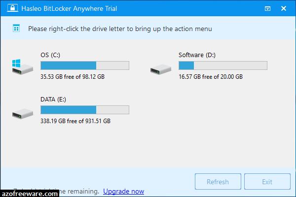 BitLocker Anywhere 7.5 - 硬碟全碟加密工具 - 阿榮福利味 - 免費軟體下載