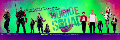 Suicide Squad Theatrical One Sheet Movie Banner