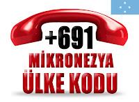 +691 Mikronezya ülke telefon kodu