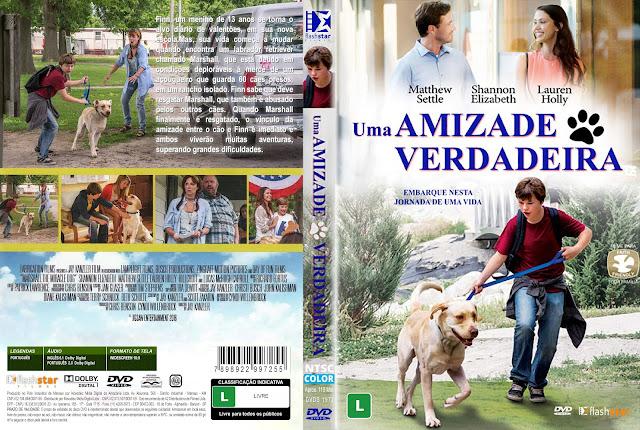 Capa DVD Uma Amizade Verdadeira