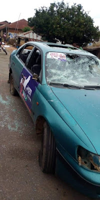 PHOTO: APC, PDP Supporters Clash In Ondo Ahead of Elections #OndoDecides2020
