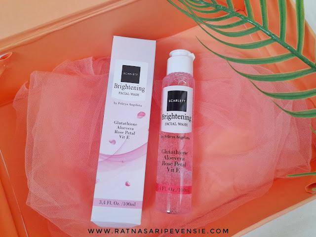 Review Scarlett Brightening Facial Wash
