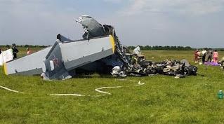 20 قتيلاً وجريحاً بهبوط اضطراري لطائرة في سيبيريا