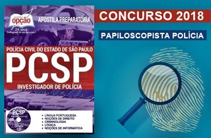Concurso PC-SP 2018 Investigador de Polícia