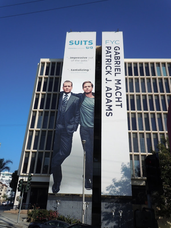 Giant Suits Emmy Consideration billboard