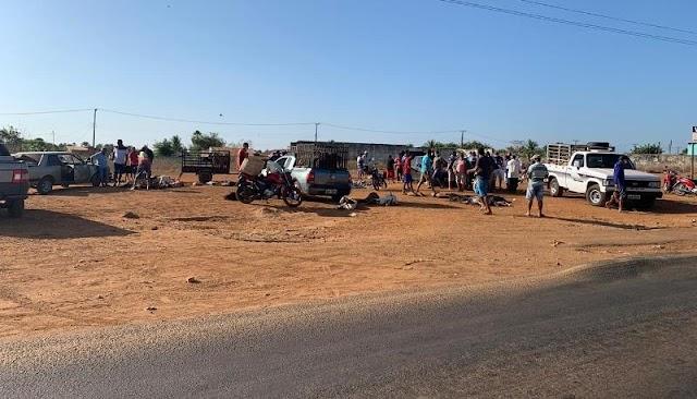 Criadores de animais tentam burlar decreto e criam feira clandestina em Campo Maior