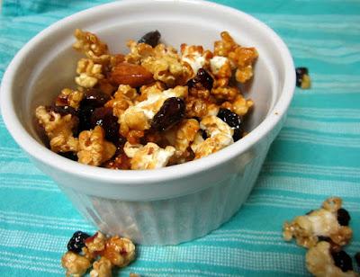 honey popcorn clusters