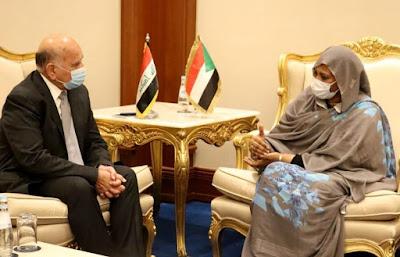 العراق والسودان يبحثان ازمة سد النهضة وتداعياتها على المنطقة