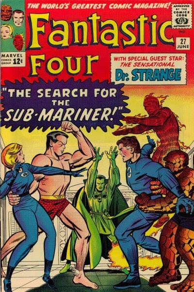 Fantastic Four #27, The Sub-Mariner and Dr Strange