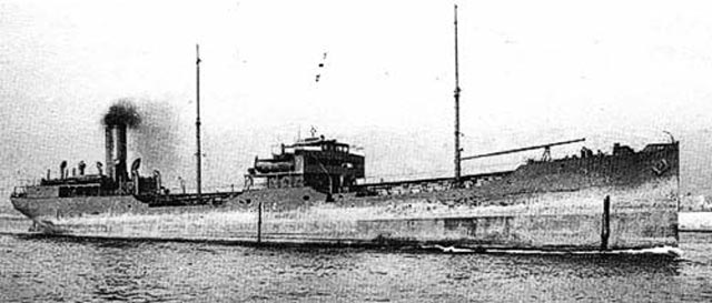 US tanker Papoose, sunk on 19 March 1942 worldwartwo.filminspector.com