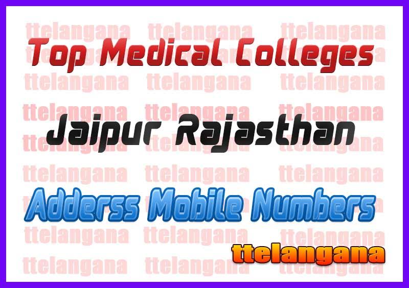 Top Medical Colleges in Jaipur Rajasthan