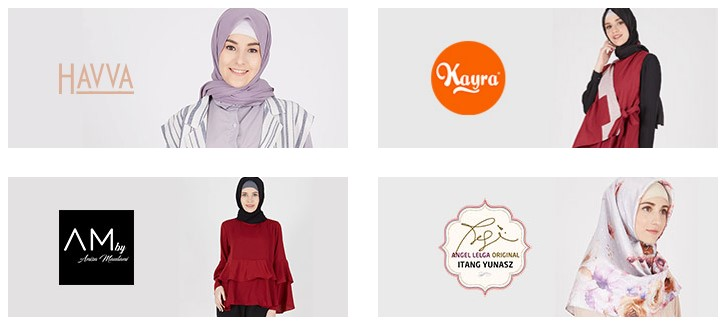 Tempat Belanja Online Busana Muslim dengan Diskon Besar-besaran