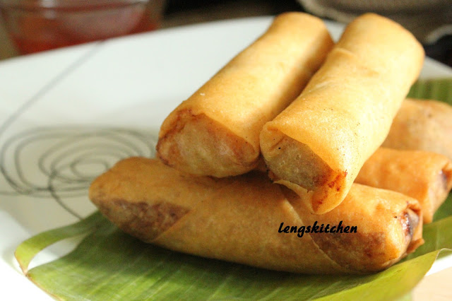 Spring Roll Recipe Indian Rak S Kitchen