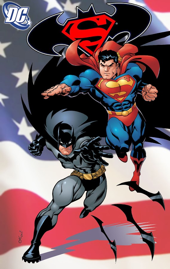 superman/batman comic