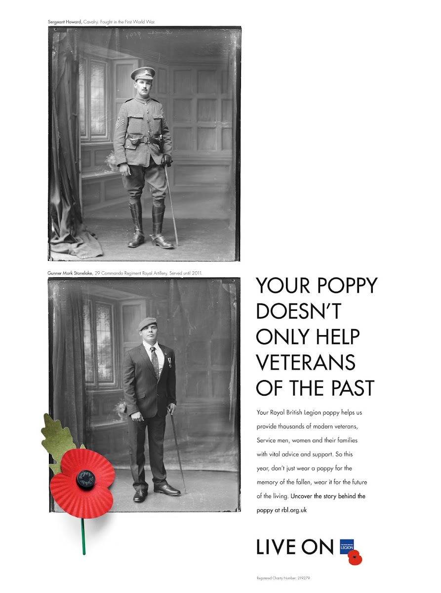 Royal British Legion, The story behind the poppy: behind the scenes