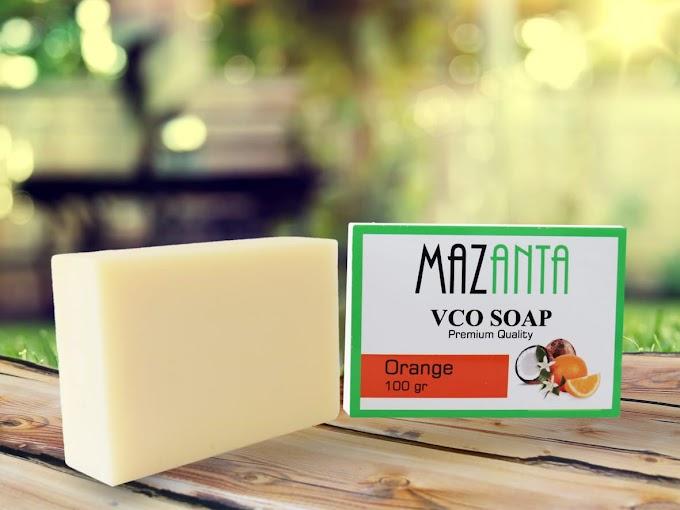 Sabun VCO Mazanta - Terbuat Dari 100% VCO Organik Berkualitas Tinggi