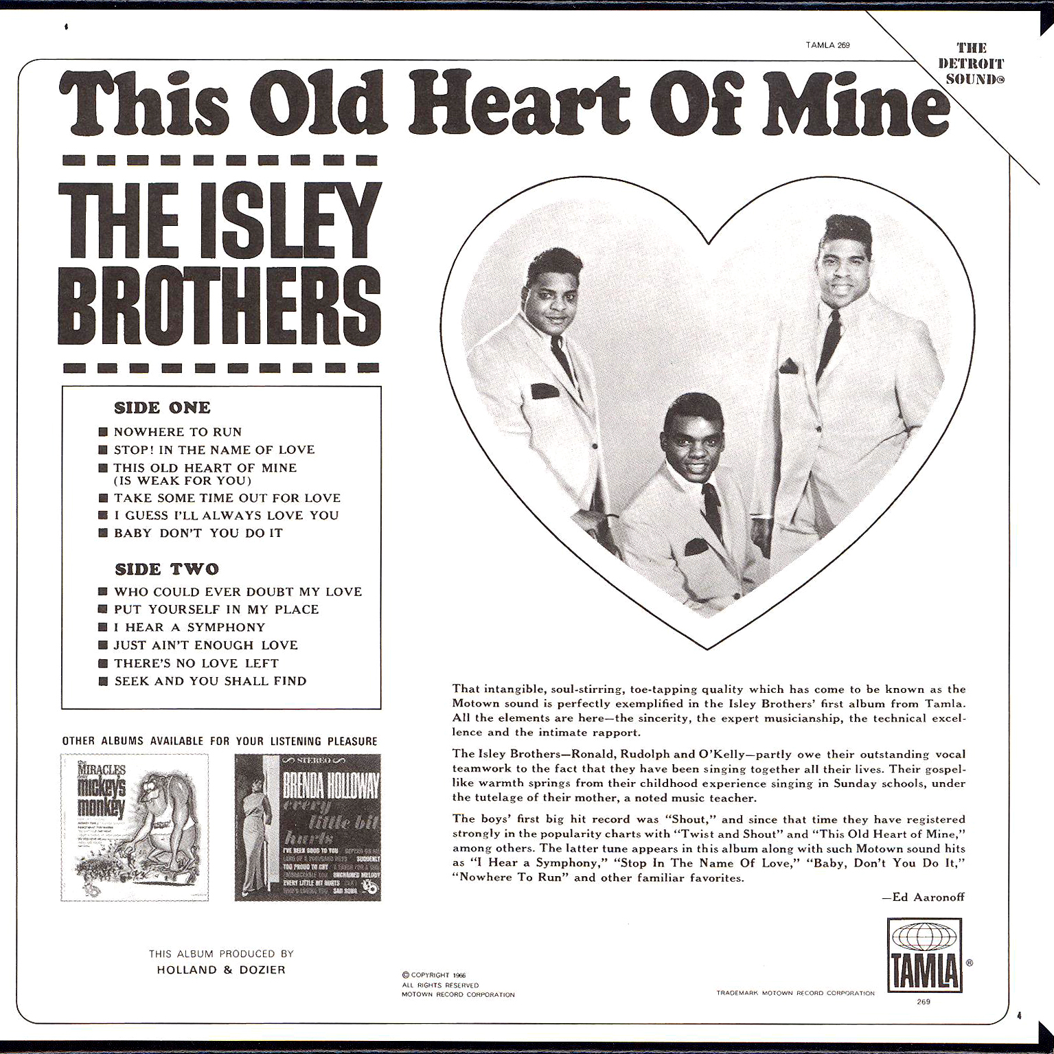 juicyjaila: The Isley Brothers - This Old Heart of Mine