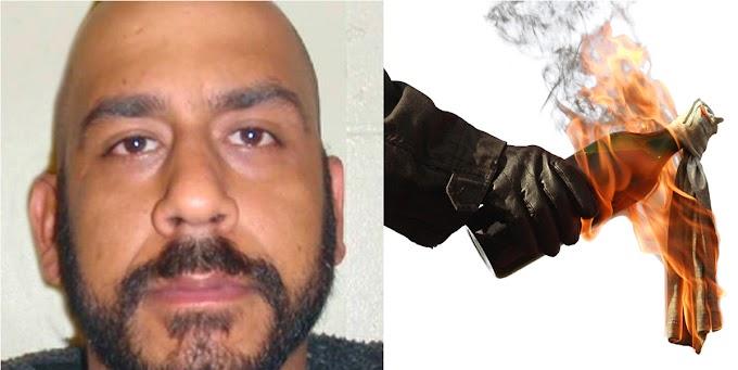 Dominicano lanza bomba molotov contra carro policial en New Jersey porque quería estar preso
