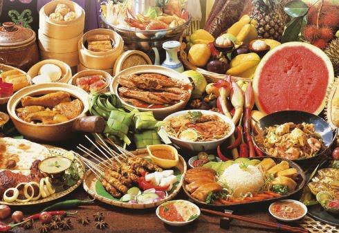 Malaysia Variety of Food Hawker