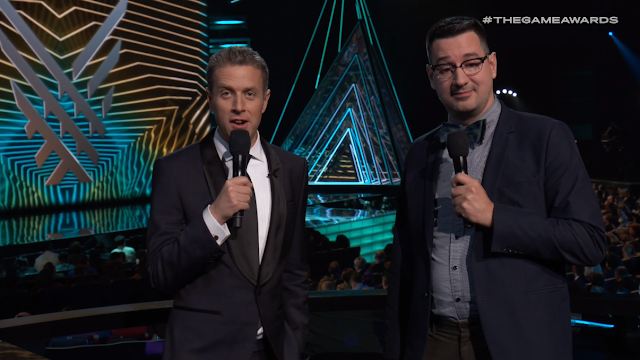 The Game Awards 2018 Mathieu Cote Mat bow-tie Dead by Daylight Behaviour Digital Inc. Geoff Keighley