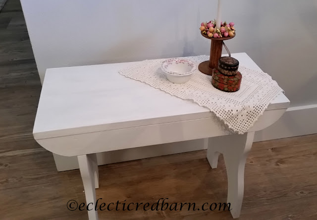 Updated Bench. Share NOW. #farmhouse #bench #DIY #eclecticredbarn #updated