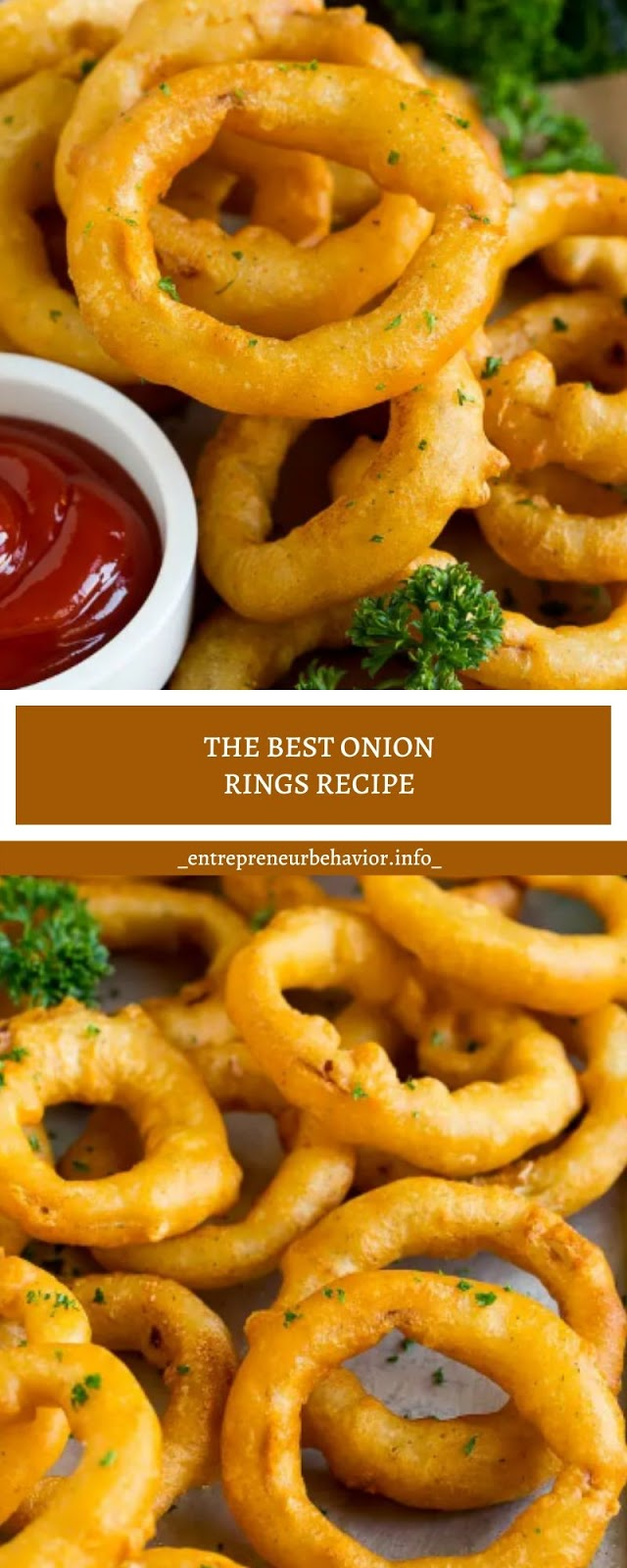 THE BEST ONION RINGS RECIPE
