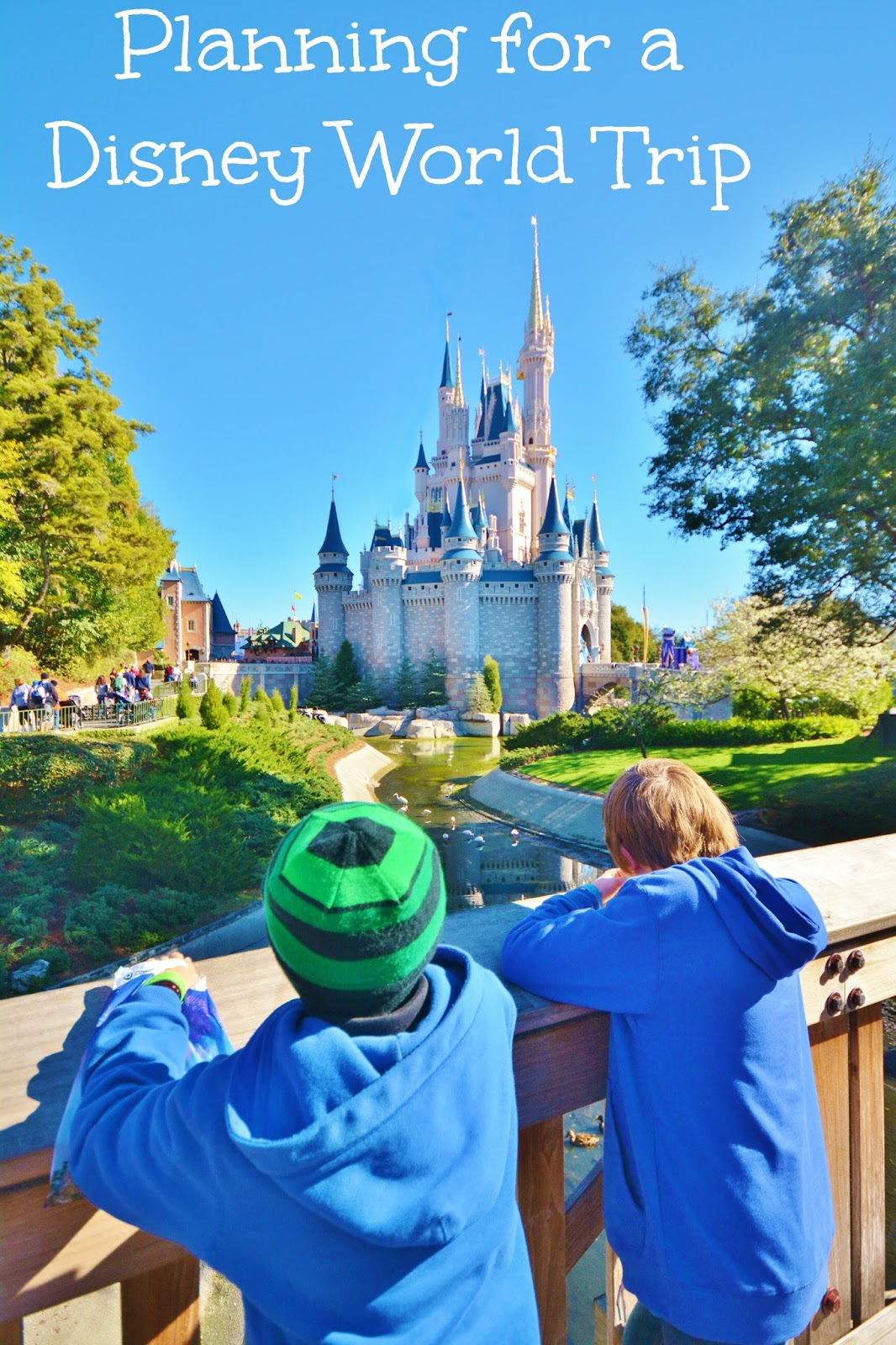 Life With 4 Boys How to Plan for a Disney World Trip