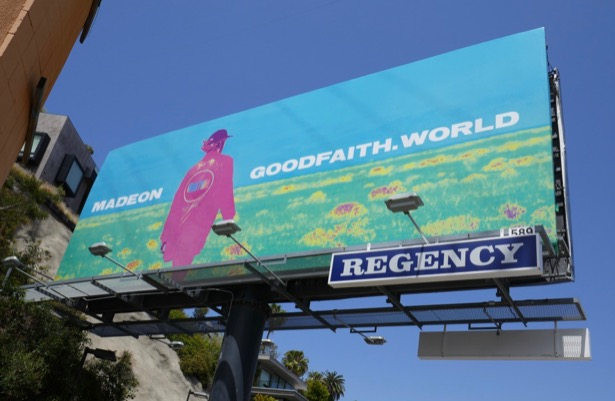 Madeon Good Faith World billboard