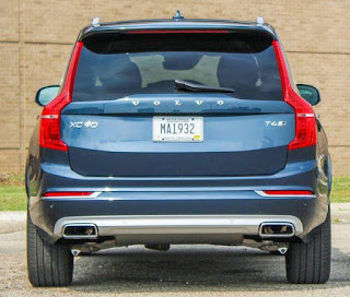 Review of Volvo XC90 2019: Rear Exterior